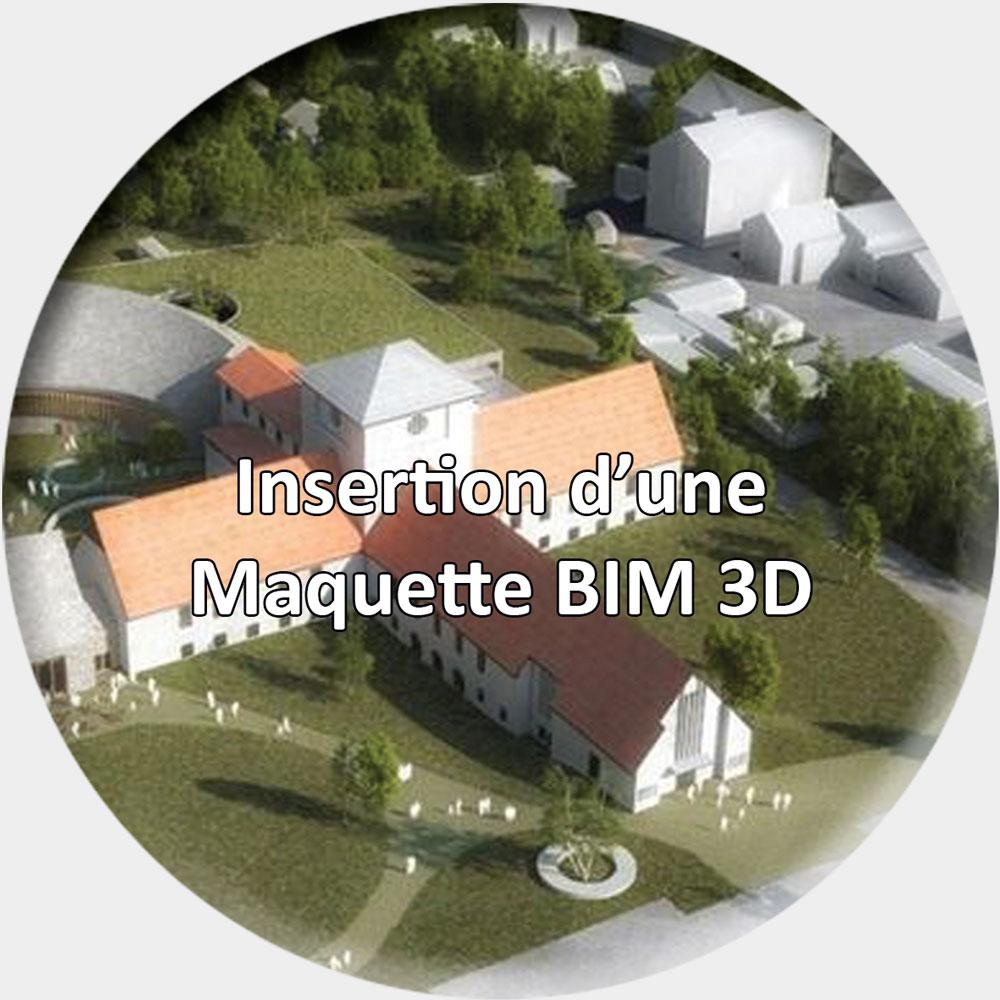 Insertion-maquette-BIM-3D