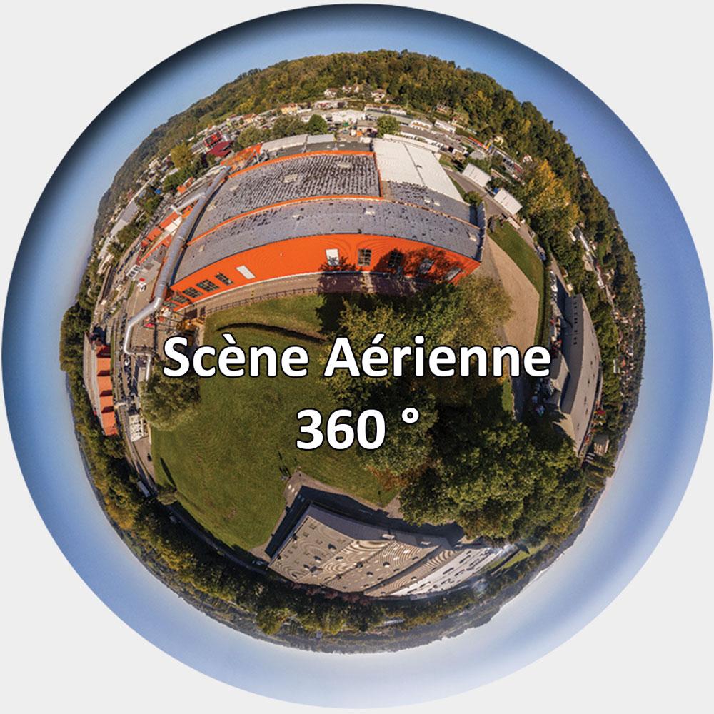Scène Aérienne 360°