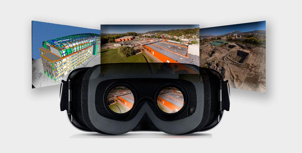 réalité virtuelle drone